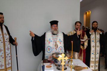 Centrul destinat tratării alcoolicilor anonimi, de la Roman, a fost sfințit