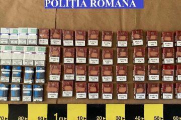 Neamț: țigări de contrabandă, confiscate de polițiști