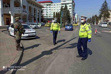 Neamț: 35 de sancțiuni, pentru nerespectarea regimului de izolare și 19, pentru nerespectarea regimului circulației
