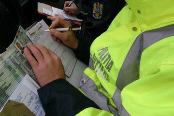 Acțiune a polițiștilor nemțeni: permise reținute și peste 10 sancțiuni contravenționale, aplicate