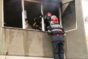 Neamț: tragedie în ziua de Paște. Un incendiu s-a produs la un apartament situat la etajul 4