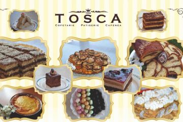 Cofetăria TOSCA Roman vă livrează la domiciliu dulciurile preferate și produsele tradiționale de Paște