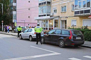 Romașcanii reclamă: tineri care fac drifturi în parcarea Kaufland, persoane recalcitrante, scandal între vecini