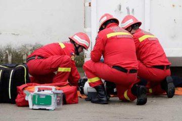 Pompierii romașcani au intervenit de urgență. Din păcate, un bătrân a fost găsit decedat