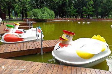 Un sfârșit de săptămână în Parcul Municipal Roman – o oază de frumusețe. Vedeți ce noutăți sunt