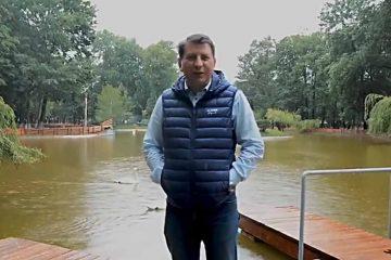 """Lucian Micu: """"Anunț deschiderea zonei de agrement de pe lac!"""""""