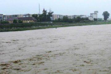 COD PORTOCALIU de creșteri de debite și inundații pe râurile Siret, Bistrița, Trotuș și Moldova