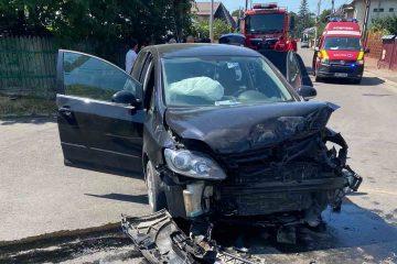 De ultimă oră la Roman: accident rutier cu o victimă