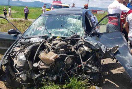 Astăzi, în Neamț: Accident rutier cu cinci victime