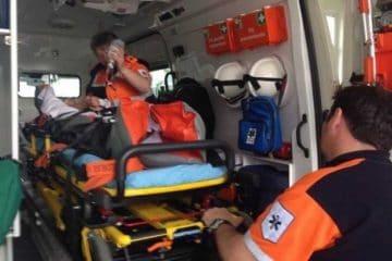 Neamț: scandal și bătaie – un tânăr a fost dus în comă la spital