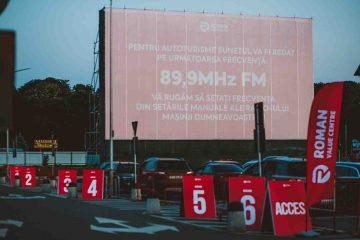 Vizionați gratuit, în fiecare seară, filme în aer liber, în parcarea Centrului Comercial Roman Value Centre