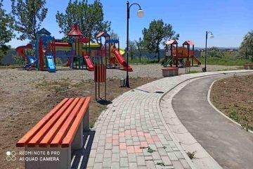 Lucrări avansate la Parcul JORA, din Roman – foto
