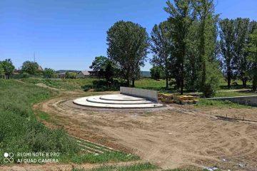 Se lucrează la realizarea Parcului ZĂVOI, un loc de relaxare pentru romașcani – foto