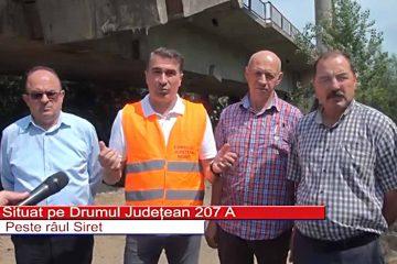 Au început lucrările de modernizare a podului de la Luțca! Circulația rutieră va fi deviată