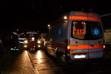 Un accident rutier grav, între un TIR și un autoturism, s-a produs aseară, în comuna Gherăești