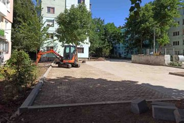 Lucrările de modernizare a zonei Smirodava – Republicii – C.A Rosetti – M. Eminescu sunt în plină desfășurare. Vezi ce se va realiza