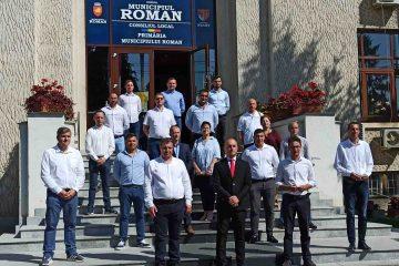 Eveniment politic: Radu Samson – USR PLUS și-a depus candidatura pentru Primăria Roman
