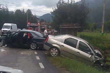 Neamț: accident rutier grav, cu trei victime – impact între două autoturisme