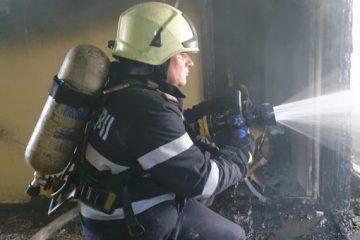 De ultimă oră: Incendiu într-un apartament din Roman, str. Anton Pann