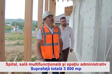 Activitate intensă la Dragomirești, pentru construirea viitorului centru de recuperare!