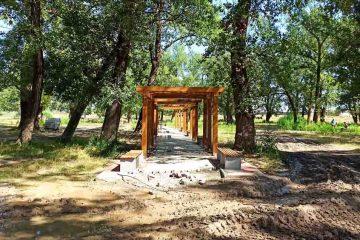 Foto: Lucrările la Parcul Zăvoi, din Roman, sunt realizate 85 %. Urmează amenajările peisagistice