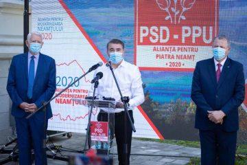 """Ionel Arsene: """"În acest mandat, Neamțul este mai dezvoltat ca niciodată."""" A fost lansată Alianța pentru Modernizarea Neamțului 2020"""