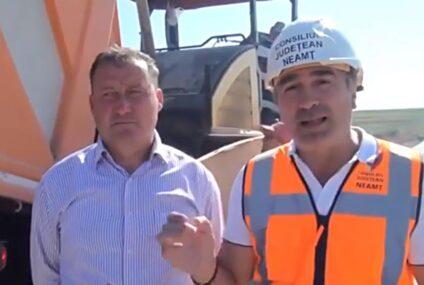 """Ionel Arsene: """"FAPTE, NU VORBE! Se toarnă asfalt pe drumul județean DJ 207A Boghicea-Nistria!"""""""