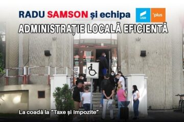 Radu Samson și Echipa USR PLUS: Administrație locală eficientă