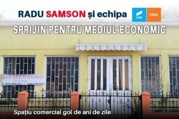 Radu Samson și Echipa USR PLUS: Sprijin pentru mediul economic