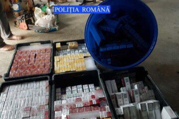 Peste 62.000 de ţigarete au fost descoperite la locuința unui nemțean în urma unei percheziții