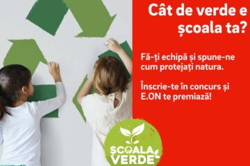 """E.ON lansează concursul național """"Școala Verde"""". Se pot înscrie școlile din Neamț. Vezi cum trebuie procedat"""