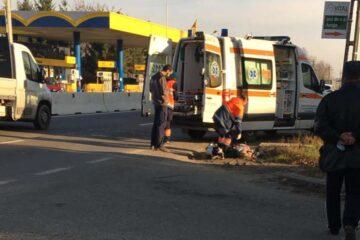Astăzi, în Neamț, o bătrână a fost accidentată mortal pe trecerea pentru pietoni