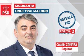 """Cătălin Zamfira, candidat PSD Neamț la Camera Deputaților: """"Digitalizarea României, pe lista de priorități a social-democraților"""""""
