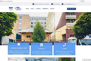 Spitalul Roman are o altă prezentare pe Internet. Pagina oficială a fost modernizată