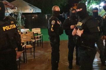 Noaptea trecută, un eveniment privat (botez), cu peste 150 de persoane, a fost întrerupt de polițiștii nemțeni