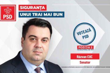 """Răzvan Cuc, candidatul PSD Neamț la Senatul României: """"Peneliștii pun tunurile pe IT-iști și constructori"""""""
