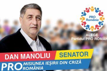"""Senator Dan Manoliu: """"Educația nu trebuie să fie bătaie de joc. Susțin redeschiderea școlilor!"""""""