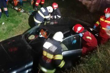Neamț: accident rutier foarte grav. Șoferul autoturismului era în comă profundă