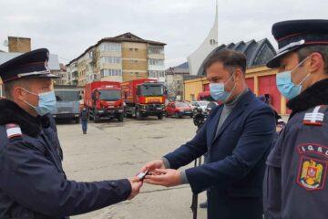 ISU Neamț: Avansări în grad și depunerea jurământului militar cu ocazia Zilei Naționale a României