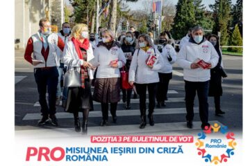 """Dan Manoliu: """"Acest vot este pentru redeschiderea școlilor și pentru ieșirea din criză. Este poziția 3, este Pro România!"""""""
