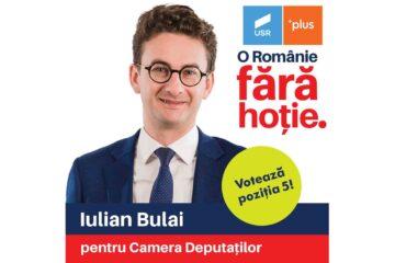 """USRPLUS Neamț: """"Iulian Bulai, deputatul tău, iubitor de oameni și de Moldova"""""""