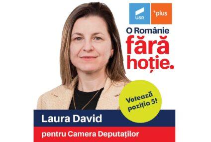 """USRPLUS Neamț: """"Laura David, un om de cuvânt pentru nemțeni!"""""""