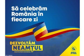"""PNL Neamț: """"La mulți ani, România! La mulți ani, nemțeni oriunde v-ați afla!"""""""