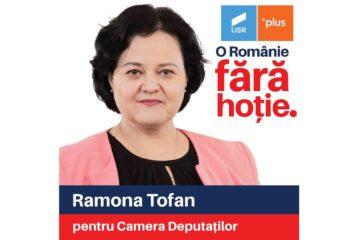 """USRPLUS Neamț: """"Ramona Tofan, o voce feminină pentru Neamț"""""""
