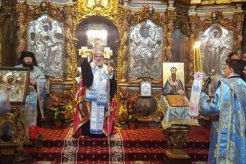 Slujbă de mulțumire la trecerea dintre ani, la Catedrala Arhiepiscopală Roman