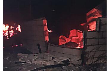 Pagube importante în urma unui incendiu la un adăpost de animale
