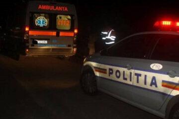 Accident rutier cu persoane încarcerate la Adjudeni, comuna Tămășeni, pe DJ 201C