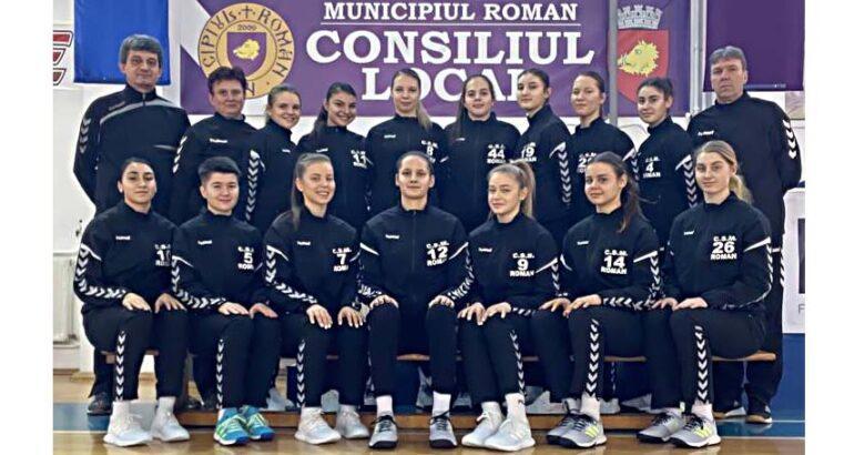 Echipa de handbal feminin CSM Roman participă cu lotul complet la Turneul al II-lea al Campionatului 2020-2021 – Divizia A