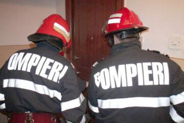 Pompierii au găsit în apartamentul de pe str. Anton Pann, din Roman, un bărbat decedat