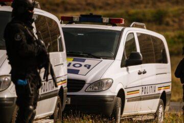Un bărbat din Bozieni, prins la furat de arbori, a sărit la bătaie la polițiști. Oamenii legii au făcut uz de armă
